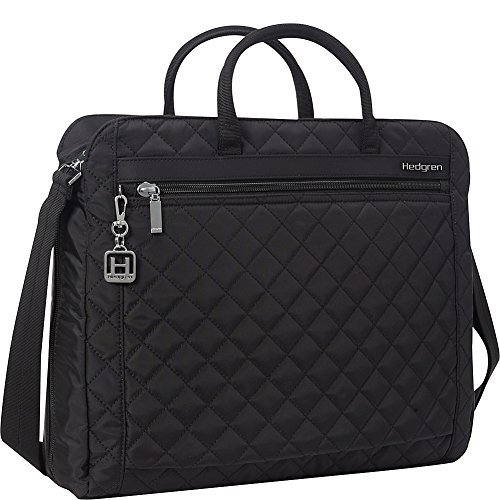 a546ccb0a Hedgren Pauline Stylish Quilted Laptop Bag with Detachable Shoulder Strap,  Organizer Panel, 15.6 Inch