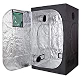 Cheap TopoLite 48″x48″x80″ Grow Tent Dark Room Reflective Mylar Indoor Garden Growing Room Hydroponic System w/ Viewing Window