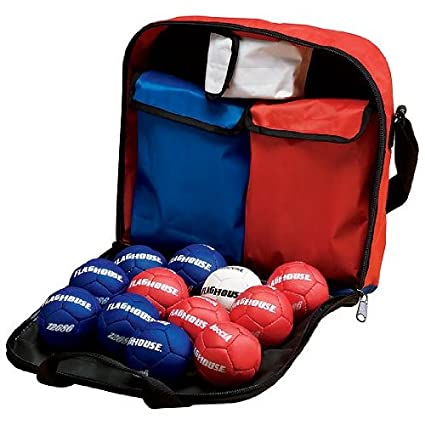 Amazon.com : FLAGHOUSE Soft Boccia Set : Bocce Sets : Sports ...