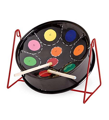 Kid's Tabletop Mini C Calypso Steel Drum Musical Instrument for sale  Delivered anywhere in USA