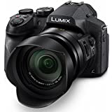 PANASONIC LUMIX FZ300, 12.1 Megapixel, 1/2.3-inch Sensor, 4K Video, WiFi, Splash & Dustproof Body, LEICA DC 24X F2.8 Zoom Lens (USA Black)