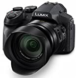 PANASONIC LUMIX FZ300, 12.1 Megapixel, 1/2.3-inch Sensor, 4K Video, WiFi, Splash & Dustproof Body, LEICA DC 24X F2.8 Zoom Lens (USA Black)