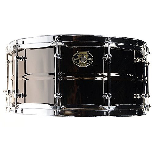 Ludwig Black Magic - Ludwig Black Magic Snare Drum - 6.5