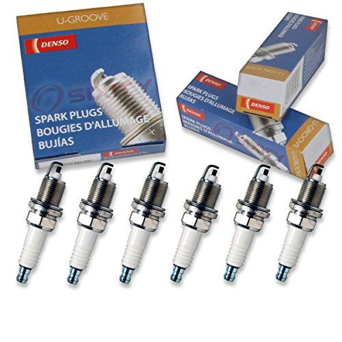 6 pcs Denso Standard U-Groove Spark Plugs 2004-2008 Chrysler Pacifica 3.5L 4.0L V6