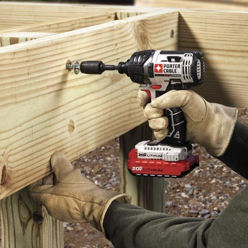 PORTER-CABLE PCCK640LB 20-volt 1/4-Inch Hex Lithium Ion Impact Driver Kit by PORTER-CABLE (Image #5)