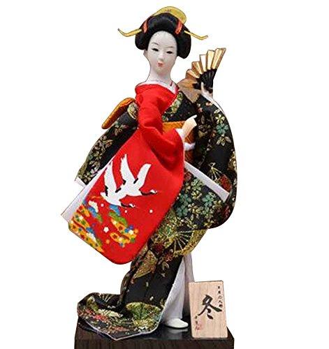 Japanese Traditional Doll Geisha Doll Antique Japanese Dolls [C]