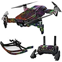 MightySkins Skin for DJI Mavic Air Drone - Paint Drip   Max Combo Protective, Durable, and Unique Vinyl Decal wrap cover   Easy To Apply, Remove, and Change Styles   Made in the USA