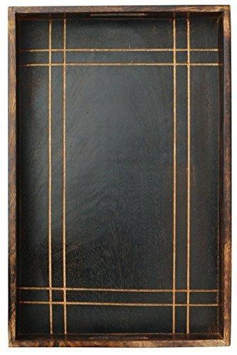 Arredamento D'antiquariato 100% Quality Vassoio In Legno Arte E Antiquariato