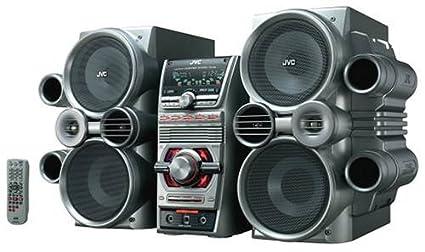 JVC HX C6 500 Watt Twin GIGA Tube Audio System With 5 Disc