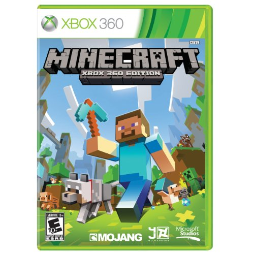 Minecraft (Best Xbox 360 Games)