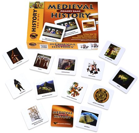 Medieval History Memory Game by The Classical Historian