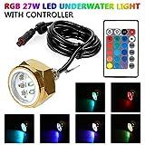 LeaningTech 27w RGB Led Drain Plug Light Boat - Best Reviews Guide