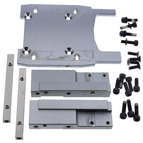 - HPI 1/8 Savage XL Octane GT15C * ENGINE MOUNT, PLATE & SCREWS * Pads Motor Gray