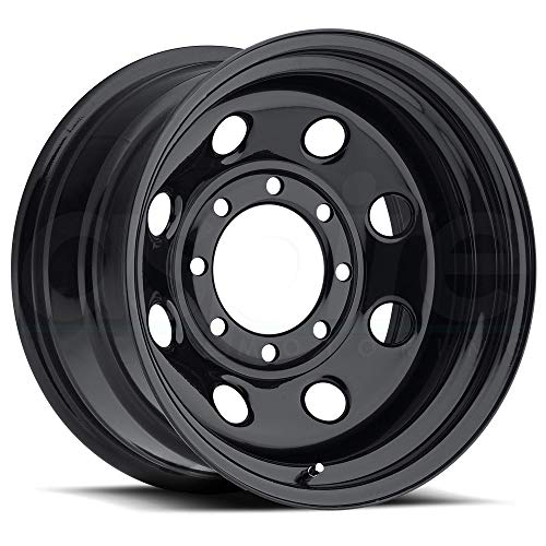 Vision 85 Soft 8 Black Wheel with Painted Finish (17x9