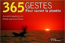 365 Gestes pour sauver la planète par Jankéliowitch