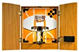 : Park & Sun 7-in-1 Family Wall Game Center Cabinet