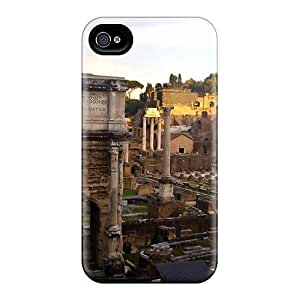 Premium OpFiMPp2354tSbdO Case With Scratch-resistant/ Forro Romano Case Cover For Iphone 4/4s