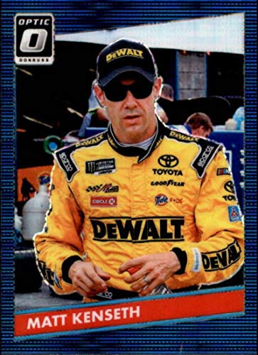 2019 Donruss Racing Optic Blue Pulsar #62 Matt Kenseth DeWalt/Joe Gibbs Racing/Toyota 1986 Retro Official NASCAR Retail Exclusive Parallel Trading ()