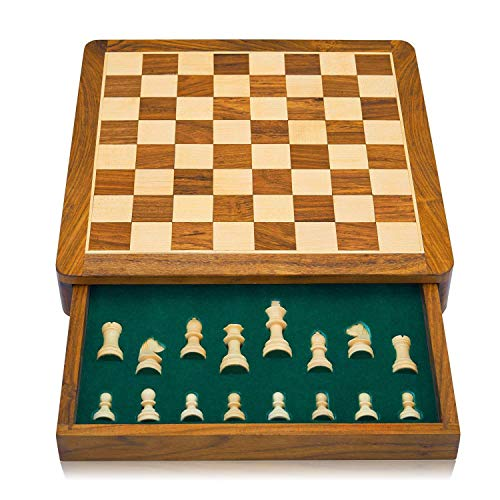 Mens Xmas Gift Ideas Gifts Ad Christmas Under 50 Great Birthday 12 Inch Classic Wooden Chess Set With Magnetic Board Handcrafted Felted