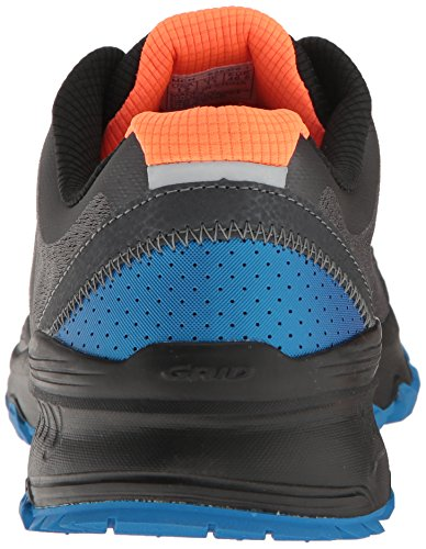 Saucony Mens Grid Kaliber Tr Trail Runner Grå / Blå / Orange