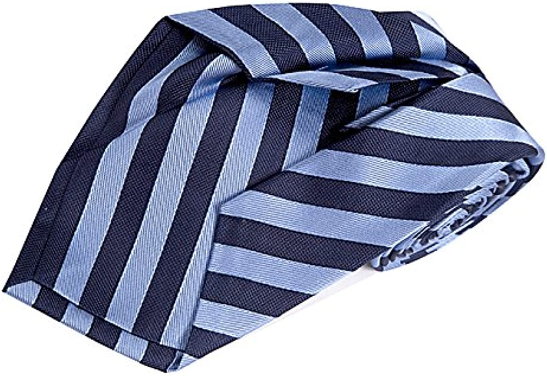SoloGemelos Corbata 7 Pliegues - Azul, Celeste - Hombres - Talla ...