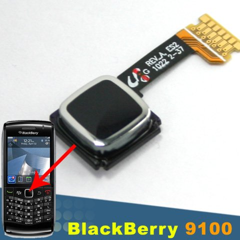 ORIGINAL BLACKBERRY PEARL 3G 9100 9105 9300 OEM TRACKPAD NAVIGATION KEY BUTTON (Blackberry 9100 Original)