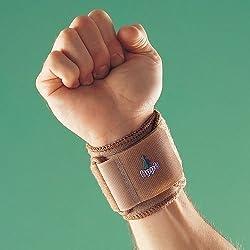 OPPO 1081 Wrist Brace Support Splint Sports Wrap Weight Lifting Training Strap by Vitalphysio