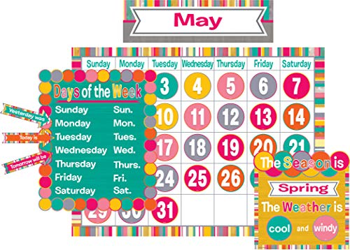 Teacher Created Resources (2685) Tropical Punch Calendar Bulletin Board]()