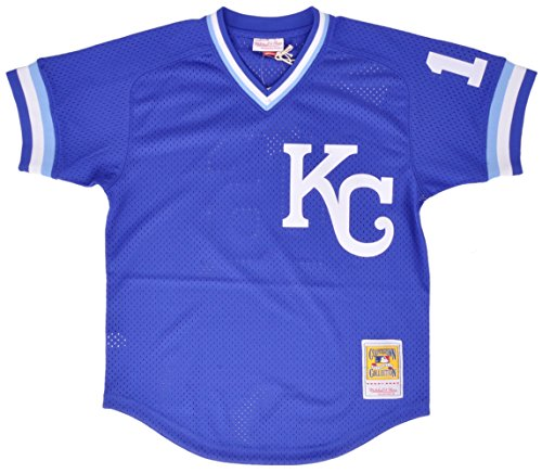 - Mitchell & Ness Bo Jackson Kansas City Royals Authentic 1989 BP Jersey