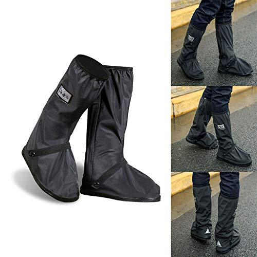 Shoe Covers, Waterproof Overshoes Slip Resistant, Rain Boots Shoe Cases, Men Women Kids Long Rainy Gear Outdoor Cycling Travel