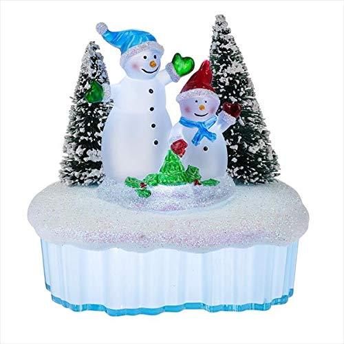 Holiday Snowman Winter Wonderland Night Light ()