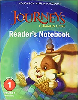Amazon journeys common core readers notebook consumable amazon journeys common core readers notebook consumable volume 1 grade 1 9780547860602 houghton mifflin harcourt books fandeluxe Image collections