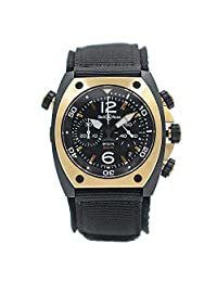 Bell & Ross BR 02 Automatic-self-Wind Male Watch BR02‑PINKGOLD‑CA (Certified Pre-Owned)