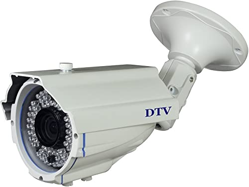 DTVASION DST90N7 CCTV Home Surveillance Outdoor IR Bullet Security Camera 960H SONY Color CCD Day Night 72 Infrared LEDs Waterproof IP66 White