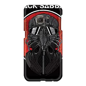 RitaSokul Samsung Galaxy S6 Shock Absorbent Hard Phone Cases Custom HD Black Sabbath Band Pictures [Sii278HzTY]