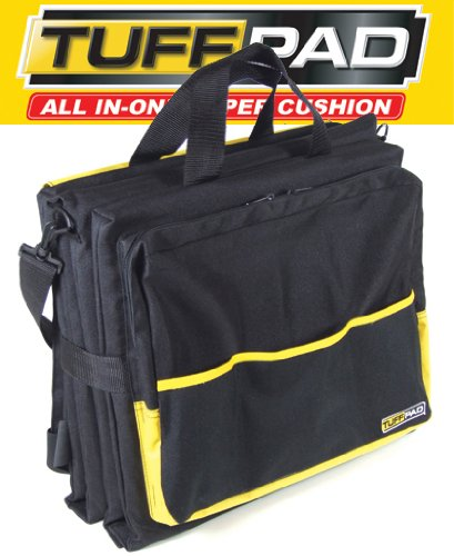 UPC 851205001176, TUFFPAD 4 Folding Cushions and Pads for Work / Home Projects, Seat Cushion, Knee Pad, Back Cushion, Removable Tool Bag