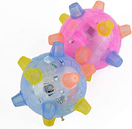 Everley Hutt LED Light Jumping Activation Ball Light Music