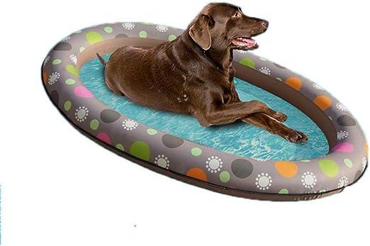 Funihut - Flotador Hinchable para Perros y Animales, para Piscina ...