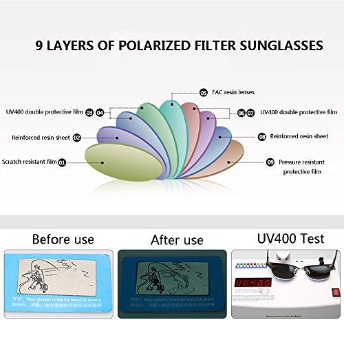 de Soleil SSSX Simple Simples Lunettes E Couleur A Réfléchissantes Vintage Lunettes Lunettes Colorées Anti de Polarizer Hommes UV pour Conduite GYYTYJ Soleil 7qO7d