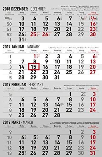 4-Monatskalender 2019