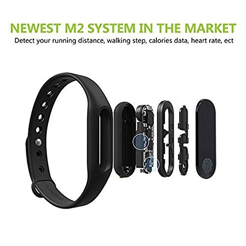 M2 Bluetooth Intelligence Health Smart Band Wrist Watch Monitor Smart  Bracelet …