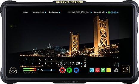 Atomos Ninja Flame - Capturadora de Video Digital (1280 x 720, 1920 x 1080, 3840 x 2160, Negro, 7.1