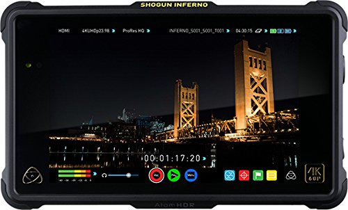 Atomos Shogun Inferno Kit (includes 7-inch 10-bit AtomHDR 1500nit Field Monitor plus full accessories) ATOMSHGIN1 by Atomos