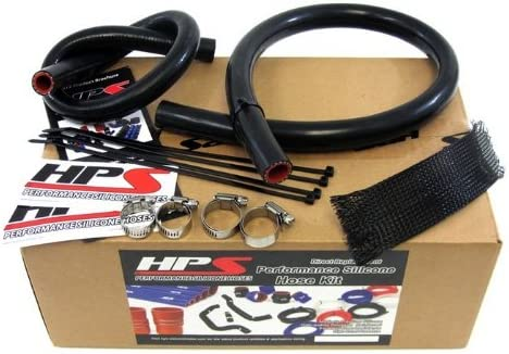 Heater Hose Kit for Jeep 91-01 Cherokee XJ 4.0L 98 99 00 HPS Silicone Radiator