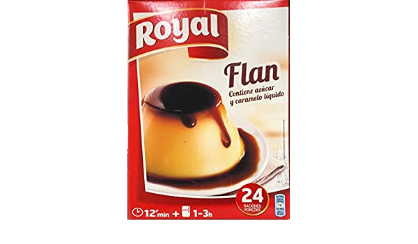 Royal Flan Familiar - Paquete de 6 x 93 gr - Total: 558 gr: Amazon.es: Alimentación y bebidas