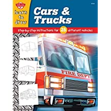 Cars & Trucks: Step-by-step instructions for 28 different vehicles (Learn to Draw)