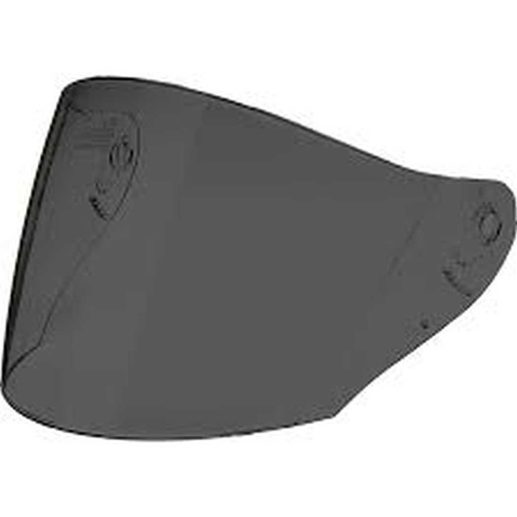 HJC Helmets HJ-17R Unisex-Adult Anti-Scratch Replacement Face Shield (Dark Smoke, One Size)
