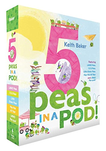 5 Peas in a Pod!: LMNO Peas; 1-2-3 Peas; Little Green Peas; Hap-Pea All Year; LMNO Pea-quel (The Peas Series) by Beach Lane Books