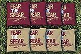 Victory Tailgate 8 Florida State FSU Seminoles Fear The Spear Regulation All Weather Cornhole Bags