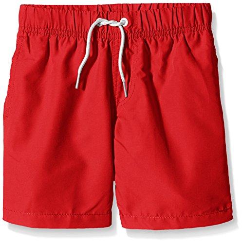 Miami Beach Swimwear Jungen Badeshorts Dylan, Rot (Chinese Red 304), 152